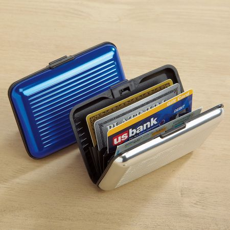 Aluminum Alloy RFID Armored Wallet