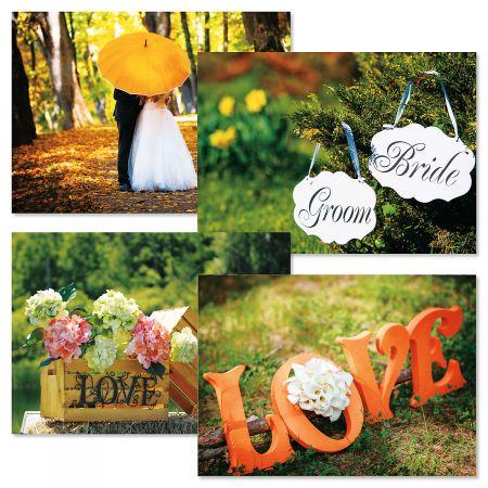 Simple Scenes Wedding Cards