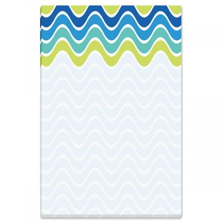 Patterns Magnetic Note Pad