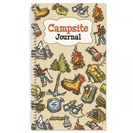 Campsite Personalized Journal