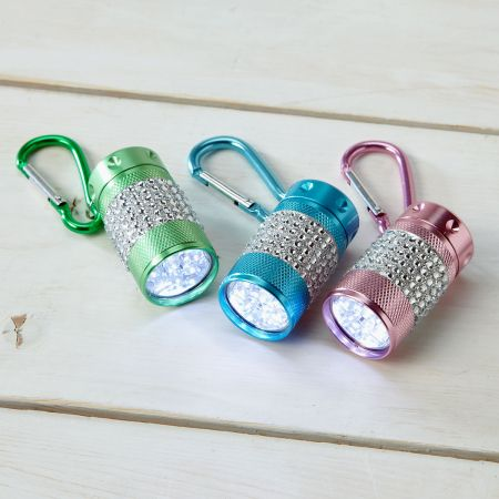 Clip Bling Flashlights