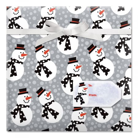 Snazzy Snowman Wrap by Current Catalog