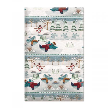 Snow Days Jumbo Rolled Gift Wrap