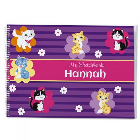 Kitten Cuties Personalized Sketchbook