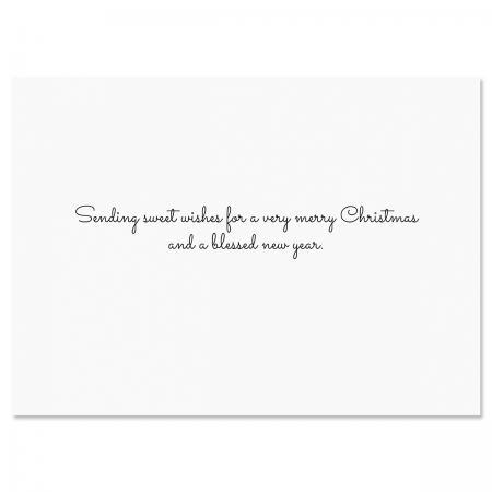 Winter Bunnies Christmas Cards
