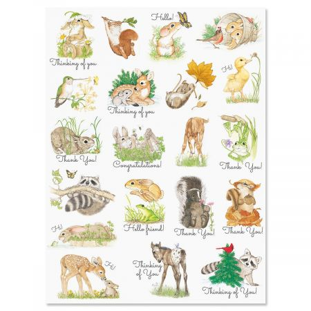 Cute Critters Stickers