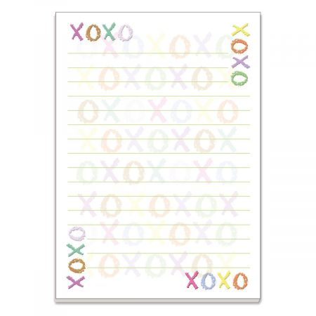 Hugs and Kisses Lined Notepads