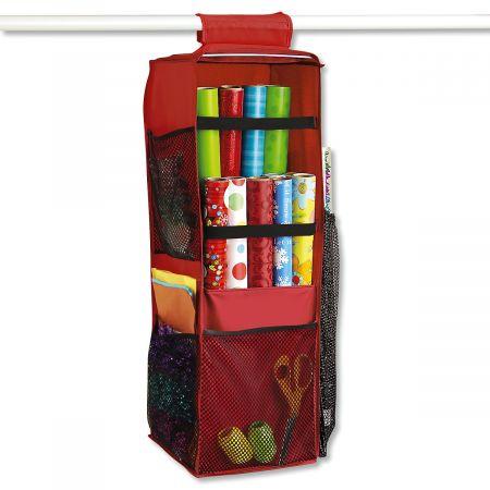 Merveilleux Closet Rod Gift Wrap Organizer ...