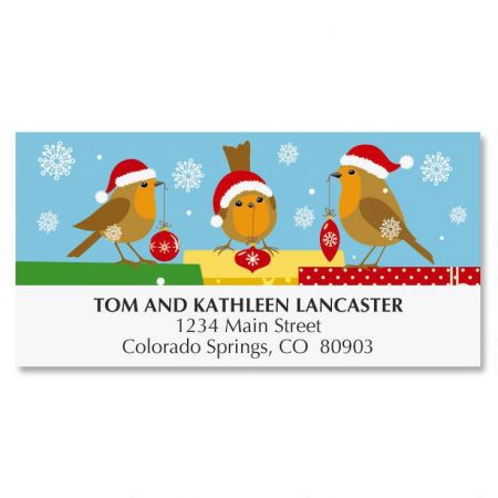 Tweet Christmas Address Labels