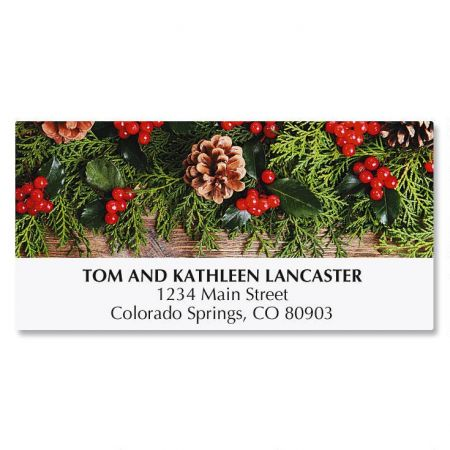 Warm with Happiness Address Labels