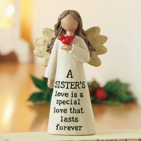 A Sister's Love Angel Figurine
