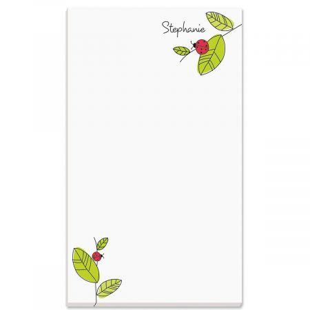 Ladybugs Notepad