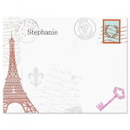 Paris Correspondence Cards
