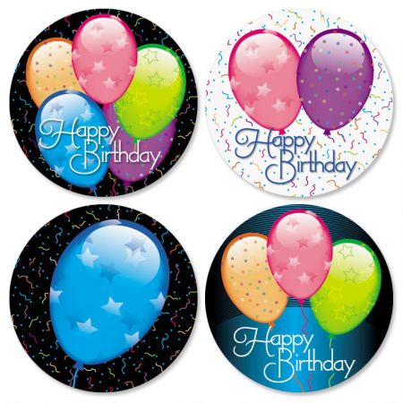 Birthday Balloons Seals