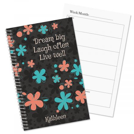 Flourish Personalized Weekly Planner