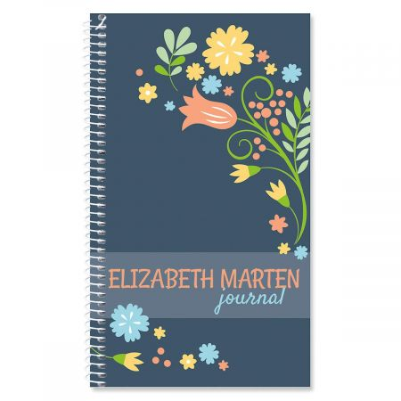 Simply Blooming Personalized Journal