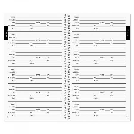 Cluster Lifetime Address Book