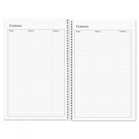 Cluster Personalized Weekly Planner