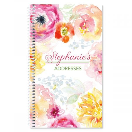 Pretty Posy Lifetime Address Book