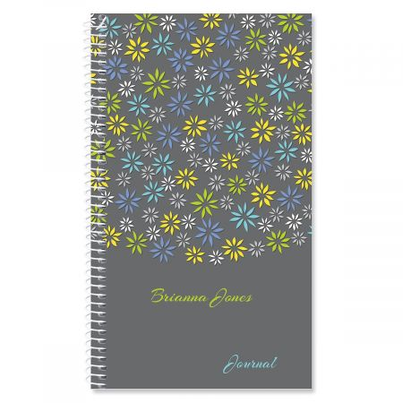 Flower Sky Personalized Journal