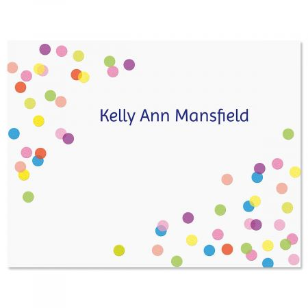 Celebrate Personalized Note Cards