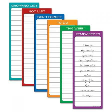 Simply Organized Lined Magnetic Shopping List Pads
