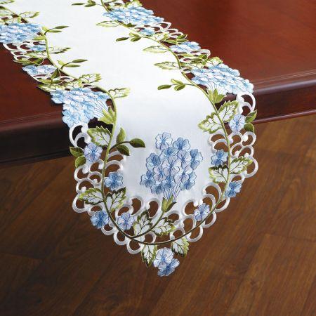 Hydrangeas Table Runner