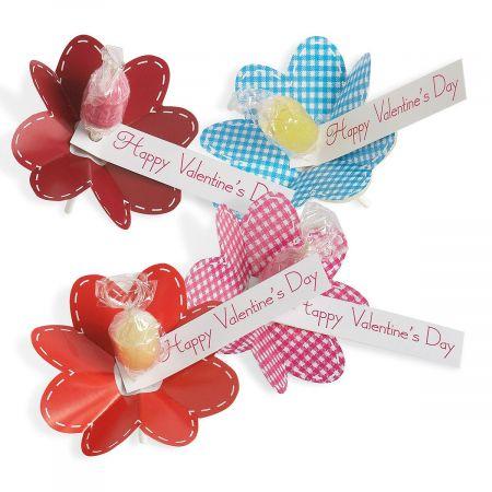 Flower Petal Pops Valentines