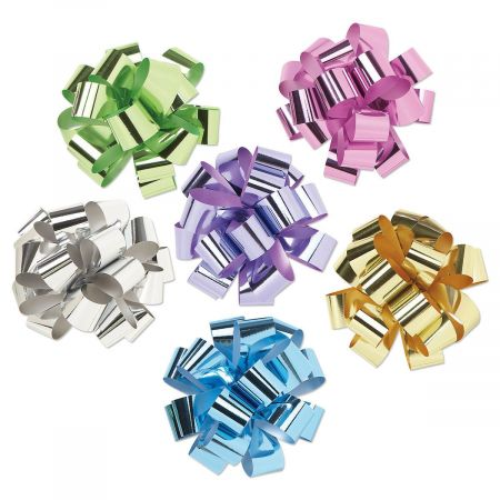 Metallic Spring Solids Pull Bows