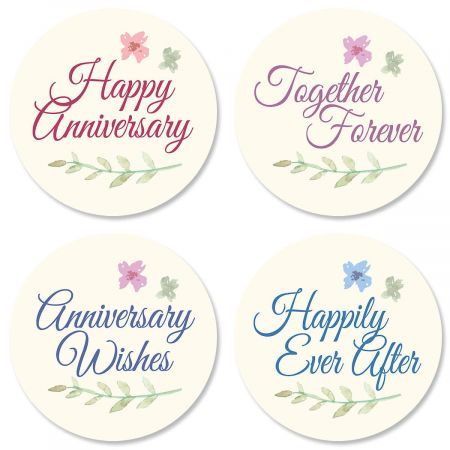Bliss Anniversary Seals