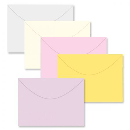 Color Greeting Card Envelopes