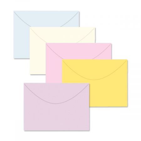 Single-Color Greeting Card-Size Envelopes