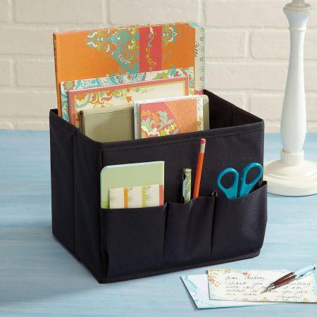 Desk Organizer with Side Pockets