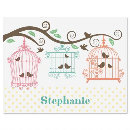 Happy Day Personalized Note Cards