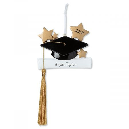 Graduation Cap Personalized Ornament