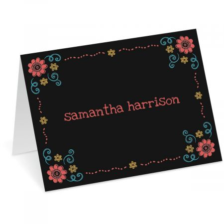 Slate Personalized Note Cards