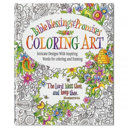 Bible Blessings & Promises Coloring Art