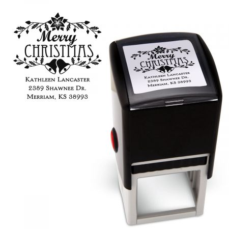 Merry Christmas Square Stamper