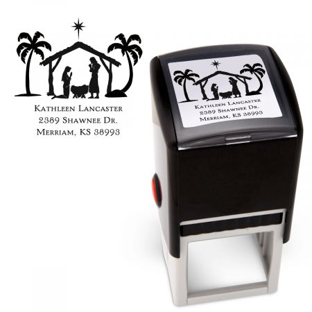 Nativity Square Stamper