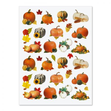 Pumpkin Fall Stickers