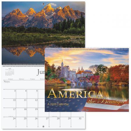 2018 America the Beautiful Wall Calendar