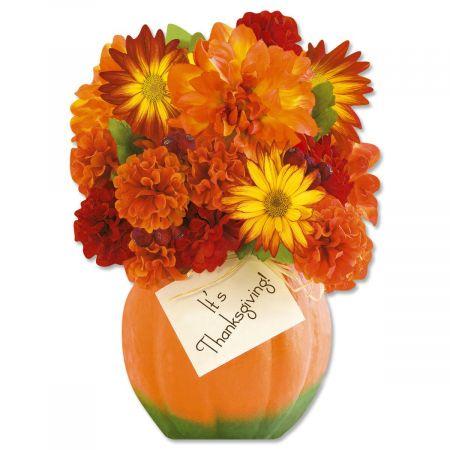 Thanksgiving Die-Cut Bouquet Cards
