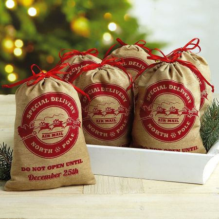 Set of 6 Special Delivery Treat Bags