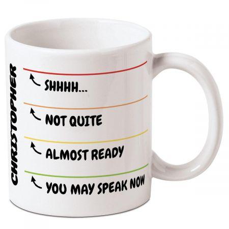 Levels of Awake Personalized Mug