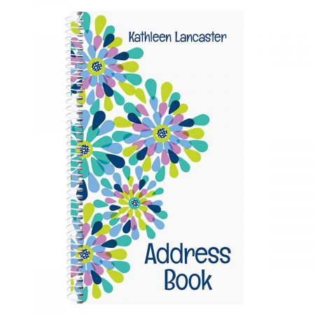 Fresh Blooms Lifetime Address Book