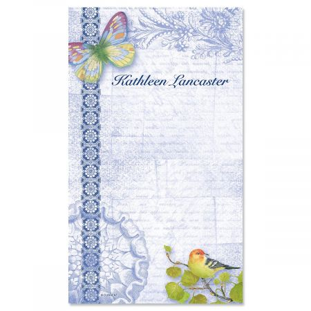 Exotic Prints Personalized Notepads