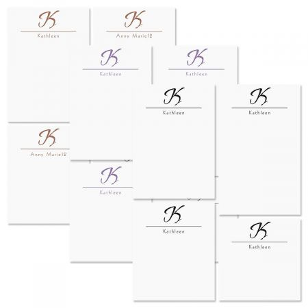 Inspirational Personalized Notepad Set