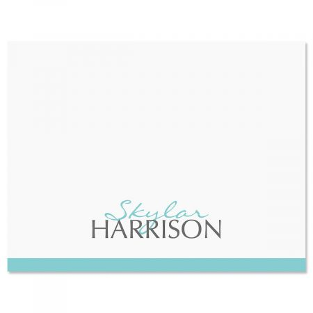 Contempo Personalized Note Cards