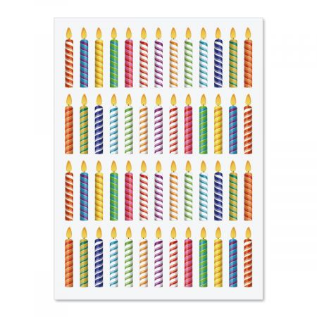 Candles Stickers