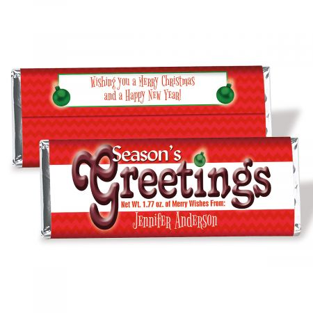 Holiday Candy Bar Wrappers Current Catalog